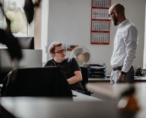 Anaxco Arbeitswelt Teaserbild IT-Services IT-Lösungen IT-Experten Cloud Digitalisierung Speditionssoftware TMS Datensicherheit Server