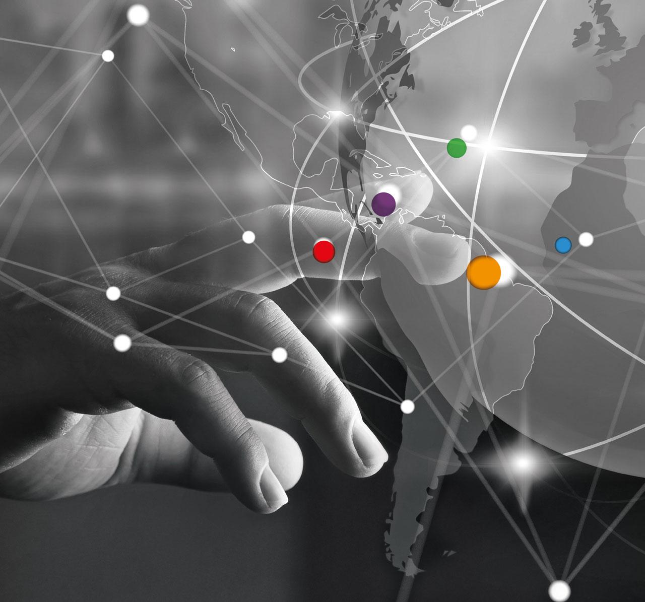 Anaxco Philosphie Teaserbild Hand IT-Services IT-Lösungen IT-Experten Cloud Digitalisierung Speditionssoftware TMS Datensicherheit Server