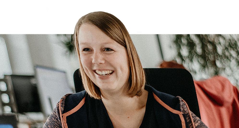 Anaxco Home Team Bild Lena Steinbrink IT-Services IT-Lösungen IT-Experten Cloud Digitalisierung Speditionssoftware TMS Datensicherheit Server